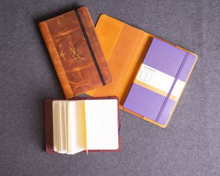 Classic Leather Cover For Moleskine