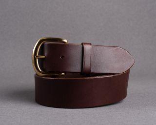 Mens Belt, Leather Mens Belt, Handmade Leather Belt, Choco Mens Belt, Size M